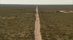 Dirt Road Stock Footage