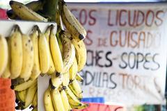 bananas mexician - stock photo