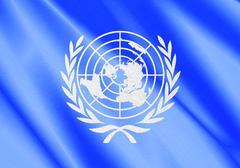 un flag - stock illustration