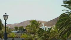 Lanzarote Island, Canary Islands Stock Footage