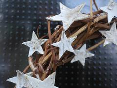 Braided chaplet stars Stock Photos
