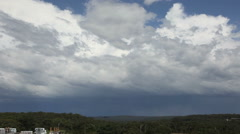 Storm Developing Time Lapse - stock footage