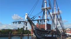 The USS Constitution Stock Footage