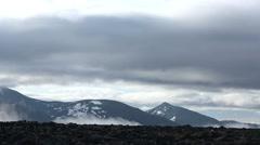 Jotunheimen mountain area Norway Stock Footage
