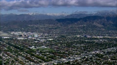 Burbank California Residential - stock footage