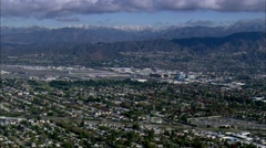 Burbank California Residential Stock Footage