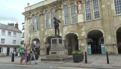 Shire Hall Monmouth 1 Stock Footage