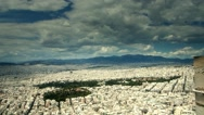 Stock Video Footage of time lapse center of Athens