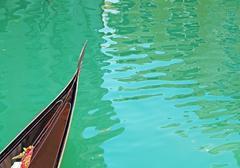 gondola prow - stock photo