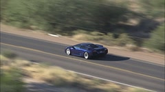 Lamborghini Car Highway Arkistovideo