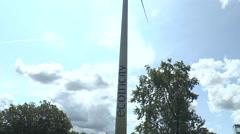 Wind turbine Greenpark Reading 1 Stock Footage
