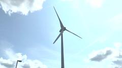 Wind turbine Greenpark Reading 4 Stock Footage