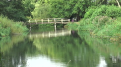 Kennet and Avon 52 Stock Footage