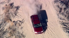 Desert Off Road Mountain Stock Footage