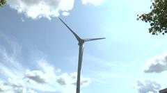 Wind turbine Greenpark Reading 5 Stock Footage