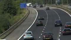 M4 Reading from Kirtons Farm RD 21 Stock Footage