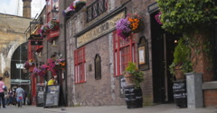 The Anchor pub in London 4K Stock Footage