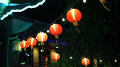 Chinese Lanterns - stock footage