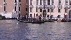 Venezia. Channels of the old town Stock Footage