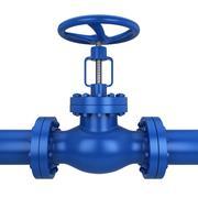 metal valve - stock illustration