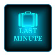 Stock Illustration of last minute icon