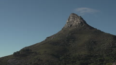 Timelapse of a mountain peak Stock Footage
