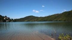 River landscape Portugal Stock Footage