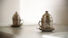 turkish coffee Stock Footage