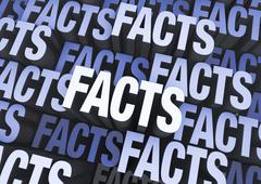 Stock Illustration of just facts