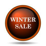 Stock Illustration of winter sale icon