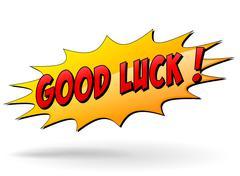 Vector good luck sign Stock Illustration