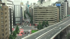 Busy Roads In Akihabara Tokyo 4K - stock footage