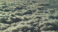 Timelapse clouds topview Stock Footage