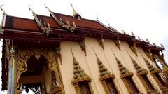 Wat Plai Laem Temple in Samui Island, Thailand. Stock Footage