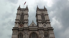 Westminster Abbey - stock footage