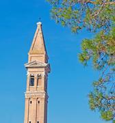 san martino steeple - stock photo