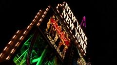 LAS VEGAS - NEW YORK NEW YORK SIGN Stock Footage
