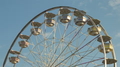 Ferris Wheel Spinning 1 Stock Footage