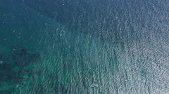 Aerial view of Ocean - stock footage