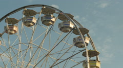 4K Ferris Wheel Spinning 2 Stock Footage