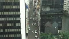 Narrow Road And Office Buildings In Akihabara Tokyo 4K - stock footage
