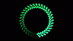 Rotating Ring, Loading Circle - Loop Stock Footage