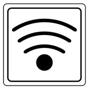 Wireless and wifi icon Stock Illustration