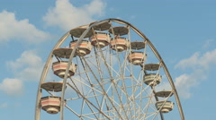 4K Ferris Wheel Spinning 4 Stock Footage