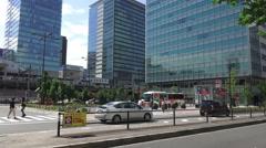 Office Buildings In Akihabara Tokyo 4K Stock Footage