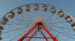 4K Ferris Wheel Spinning 5 Stock Footage