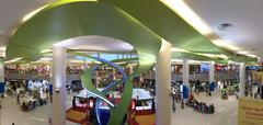 singapore vivo city shopping mall interior - stock photo
