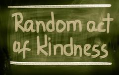 Random act of kindness concept Stock Illustration