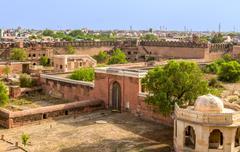 bikaner fort - stock photo