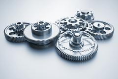 gear mechanism - stock illustration